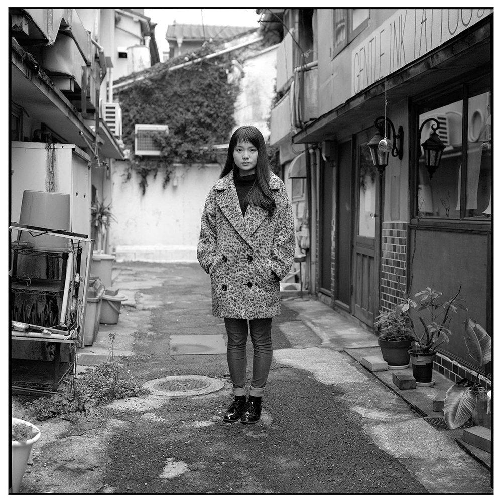 Momoko ;17 years old Sasebo, Feb.2017