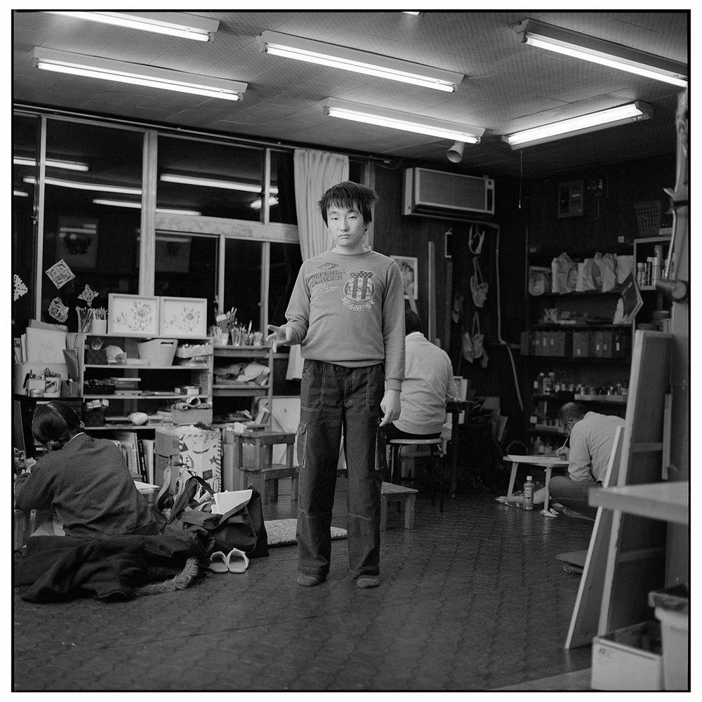Genki ;17 years old Sasebo, Apr.2017