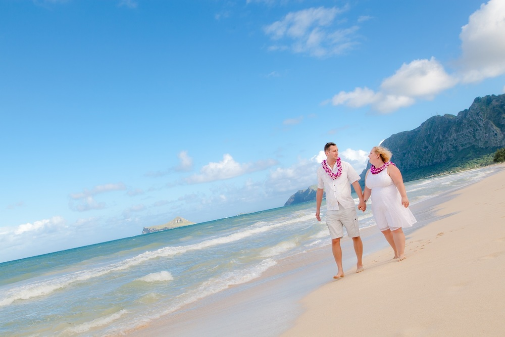 oahu beach wedding photographer