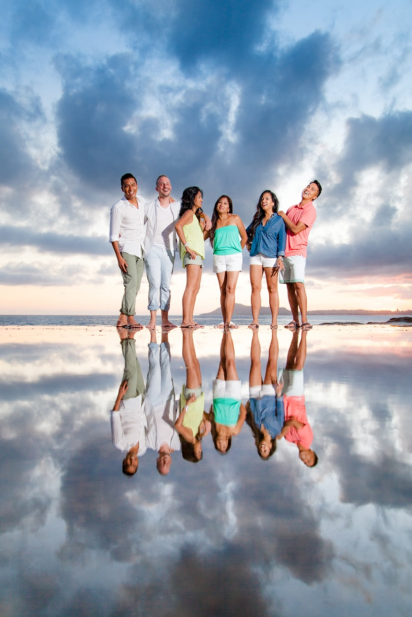 oahu family beach photography