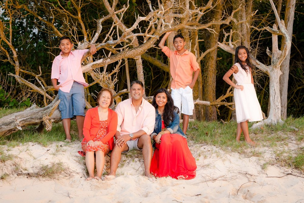 north shore oahu family beach photography