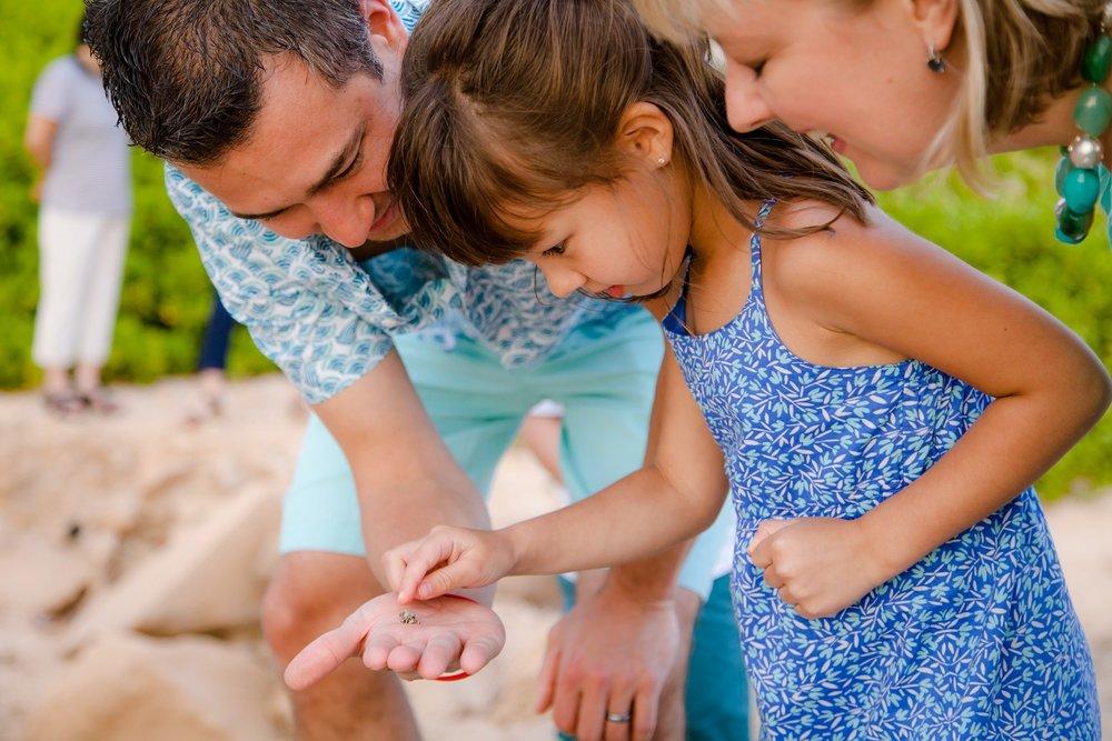 family kids beach photographer
