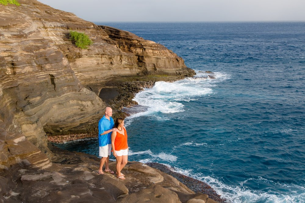 Spitting Caves Overlook, East Oahu