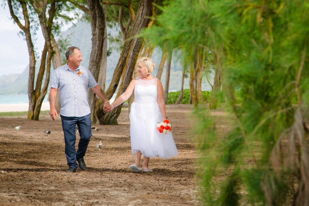 waimanalo beach wedding photographer