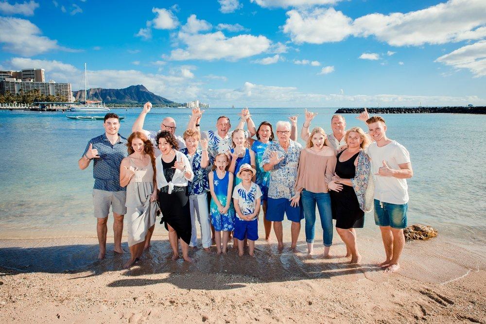 hawaiian hilton village waikiki family photography
