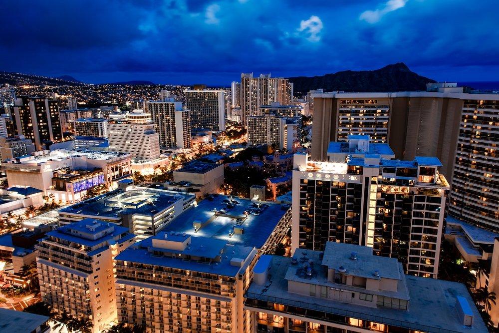 waikiki real estate condo trump tower photography