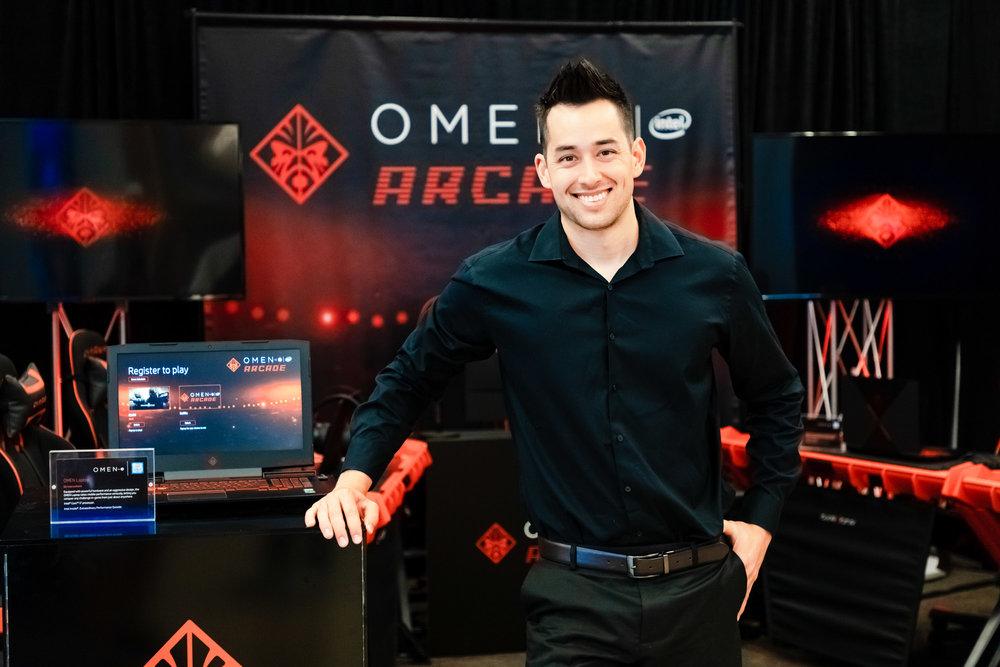 Omen Arcade Event, RIMPAC 2018