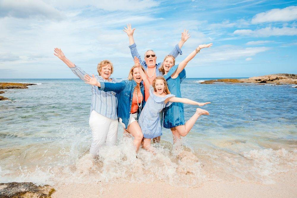 family beach photography ocean Four Seasons Resort