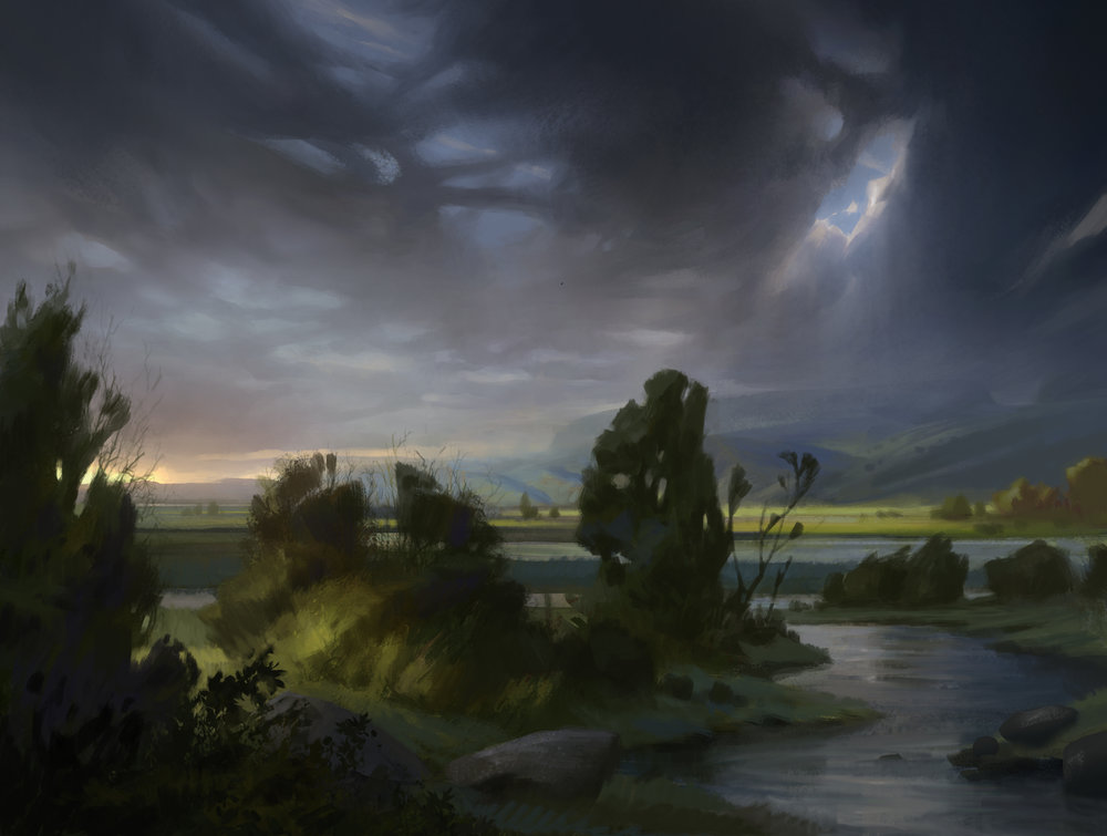 Plains Shadows over Innistrad