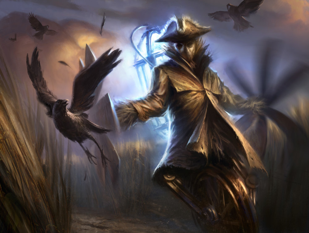 Geist-Powered Scarecrow
