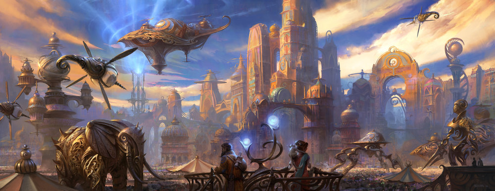 Art of Kaladesh Book Cover