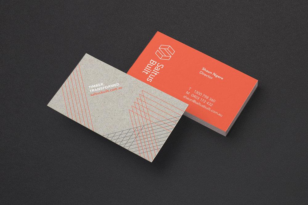 Saltus built brand identity tandem studio branding graphic saltus built perth print design business cards reheart Gallery