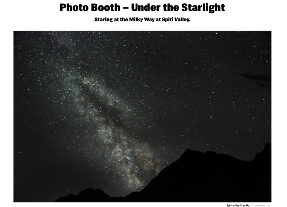 Photo Booth : Under the Starlight