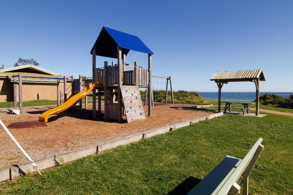 3 minute walk to this playground