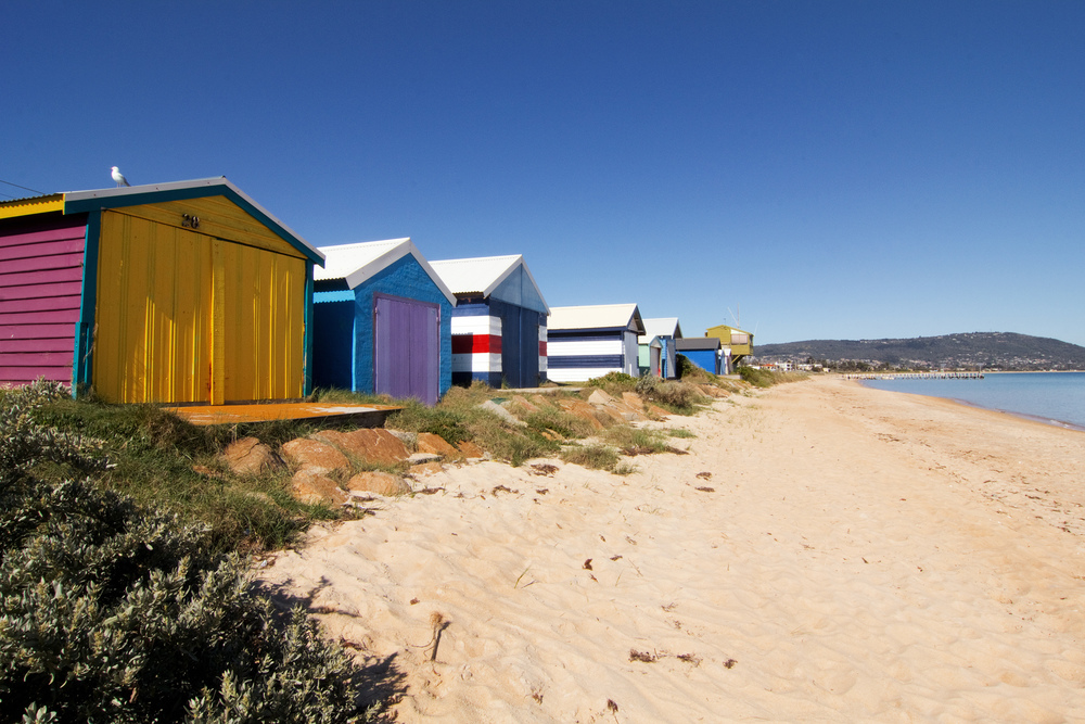Safety Beach Boathouses