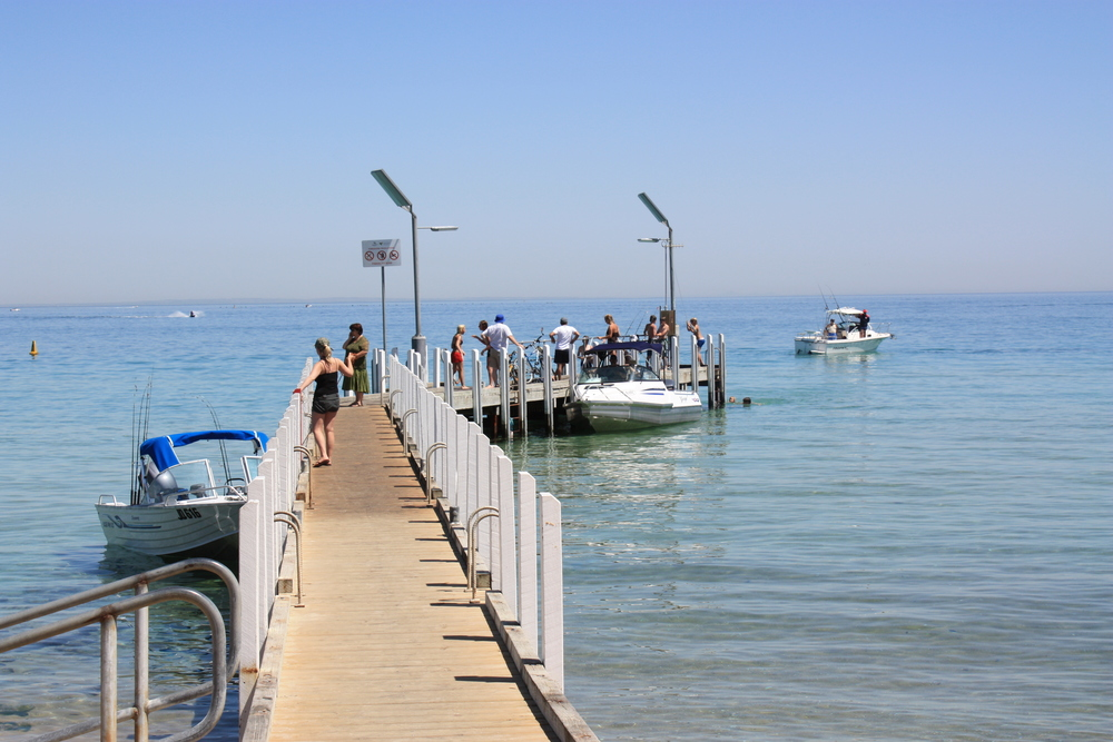 Safety Beach pier and boat ramp