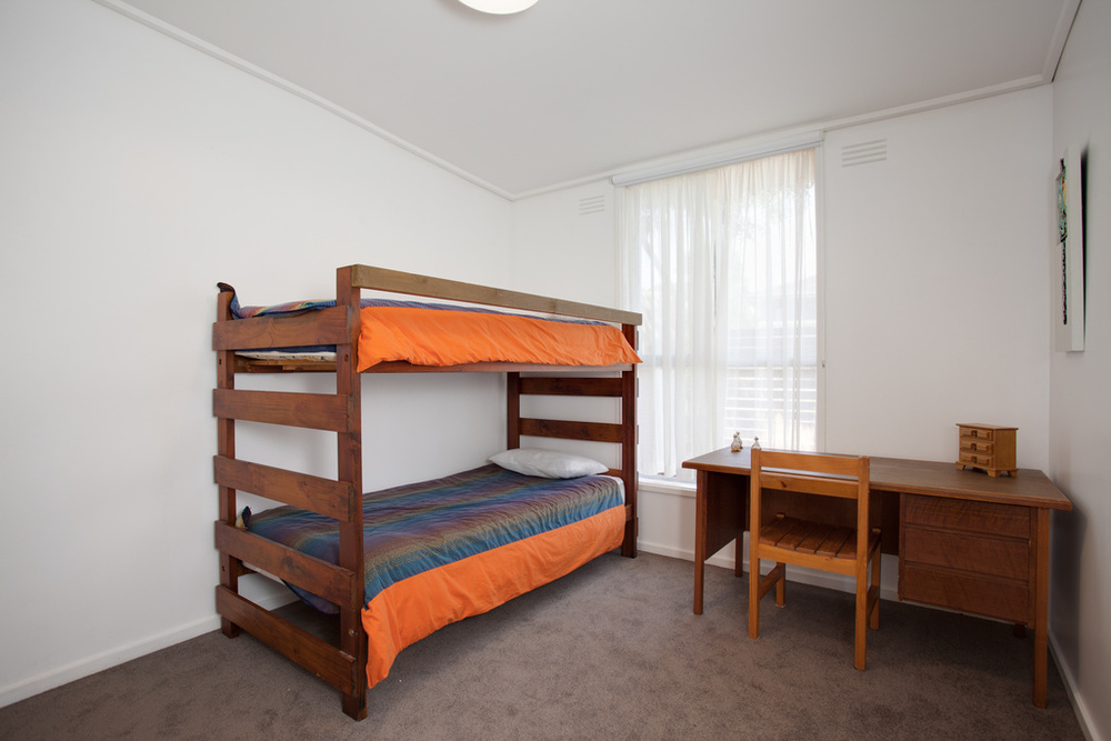Single bunks in Bedroom 3