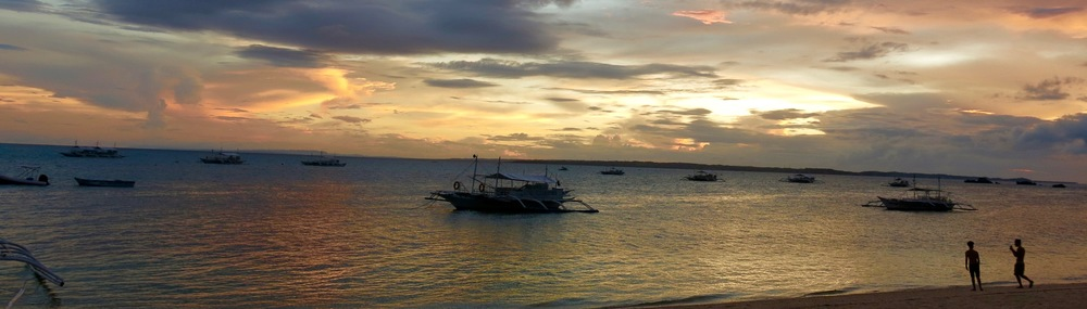 Sunset on Malapascua Island