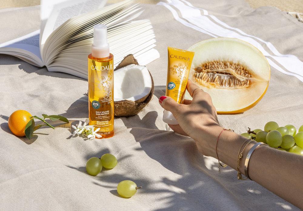 Caudalie's range of reef-safe sunscreen
