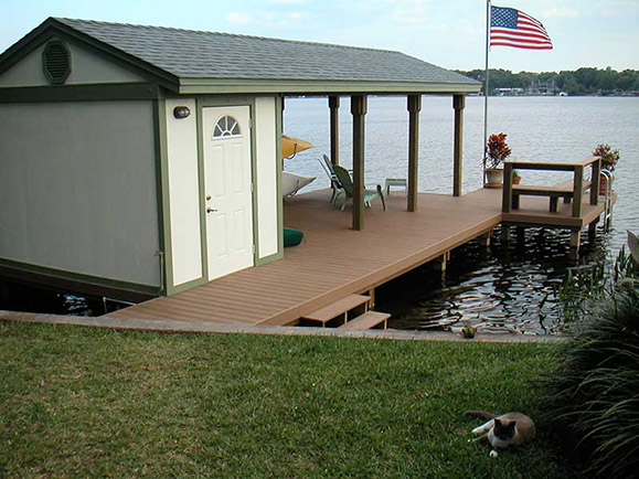 EVERGRAIN COMPOSITE DECKING – WINTER PARK