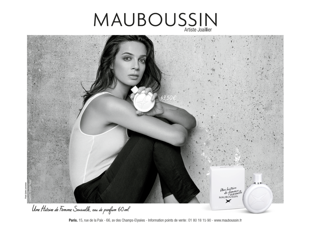 37516a2aed5e3 Mauboussin Campagnes — Clara Dumont