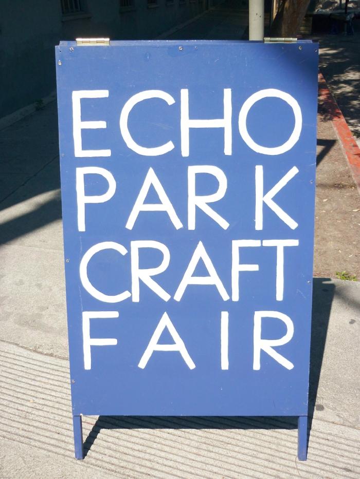 Echo Park Craft Fair - City Guide Los Angeles - The LA Bliss