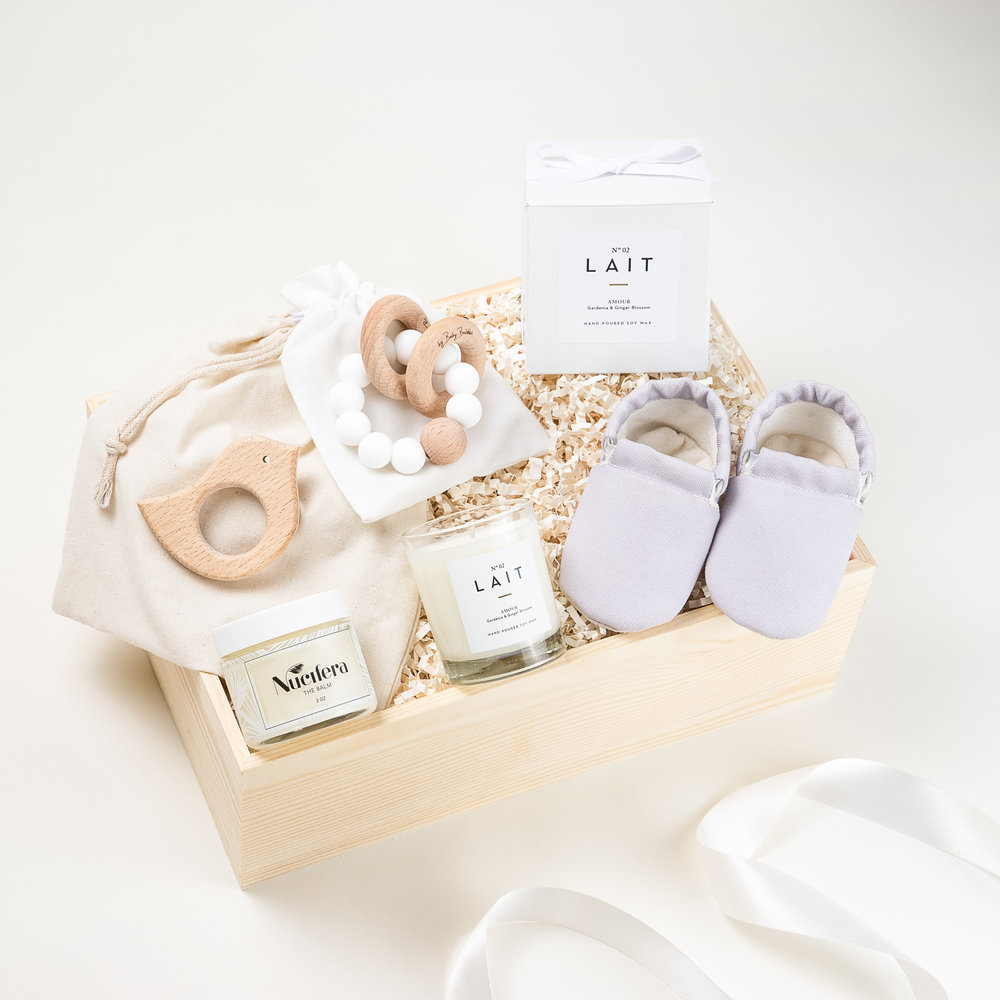 Baby Curated Gift Box Los Angeles The LA Bliss & Bébé | The LA Bliss - Los Angeles | Curated Gift Boxes | Made in LA ...