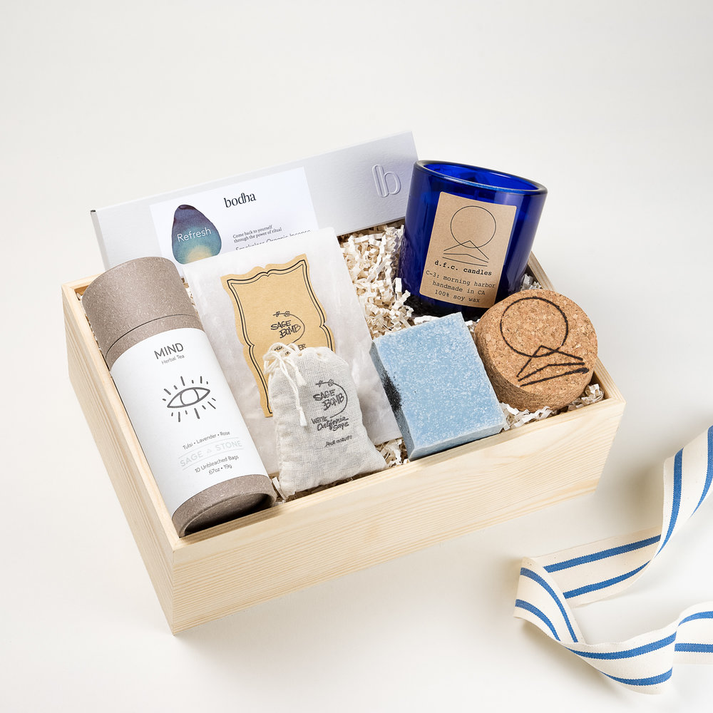 Horizon Curated Gift Box Los Angeles The LA Bliss & Horizon | The LA Bliss - Los Angeles | Curated Gift Boxes | Made in ...