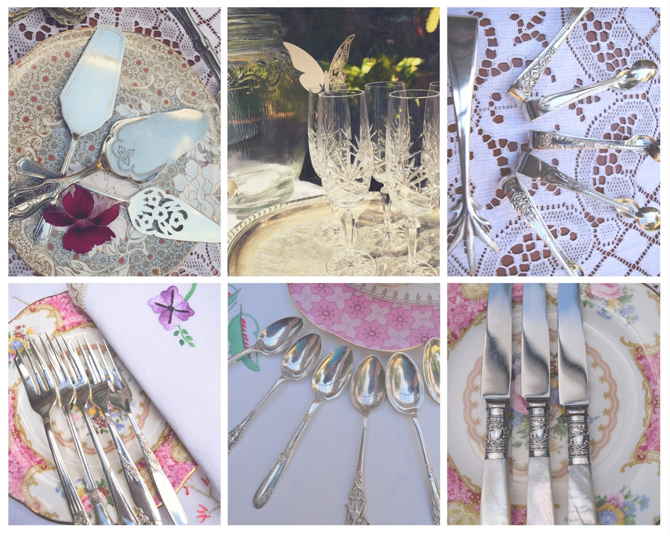 - Cutlery, Silverware & Glasses