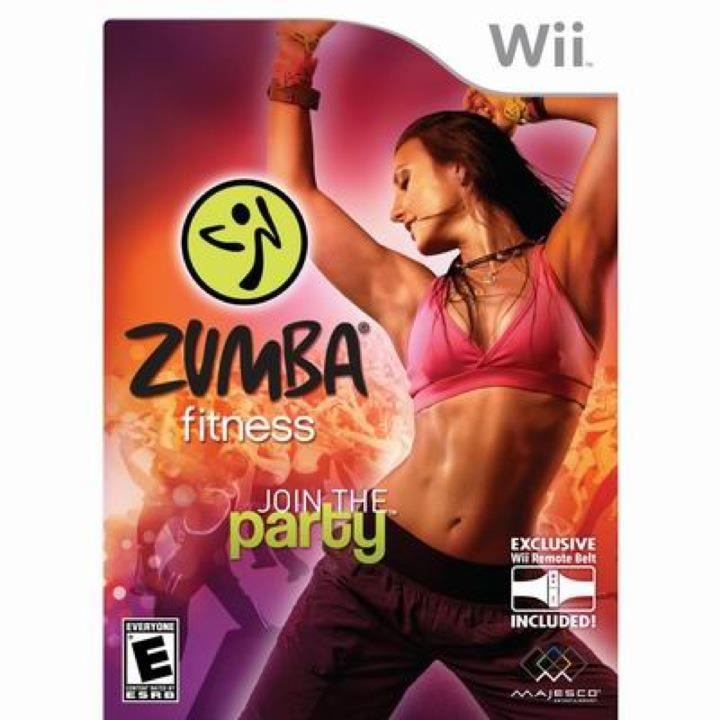 First Nintendo Wii Zumba Fitness Cover Girl