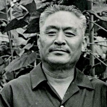 Zhào Yùzhāi shown in 1983, from  guzheng.cn