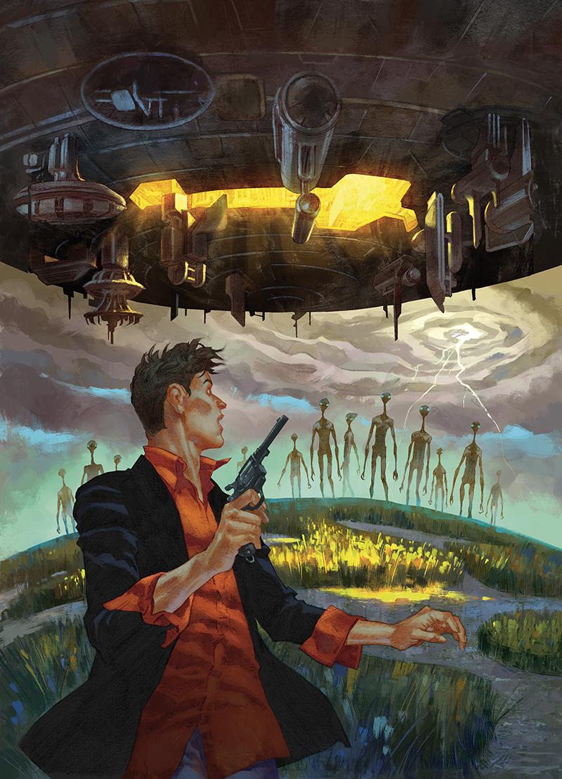"""Cover  """"Dylan Dog - I colori della paura"""" #51  Pencil: Raul e Gianluca Cestaro  Colors: Barbara Ciardo  SERGIO BONELLI EDITORE"""