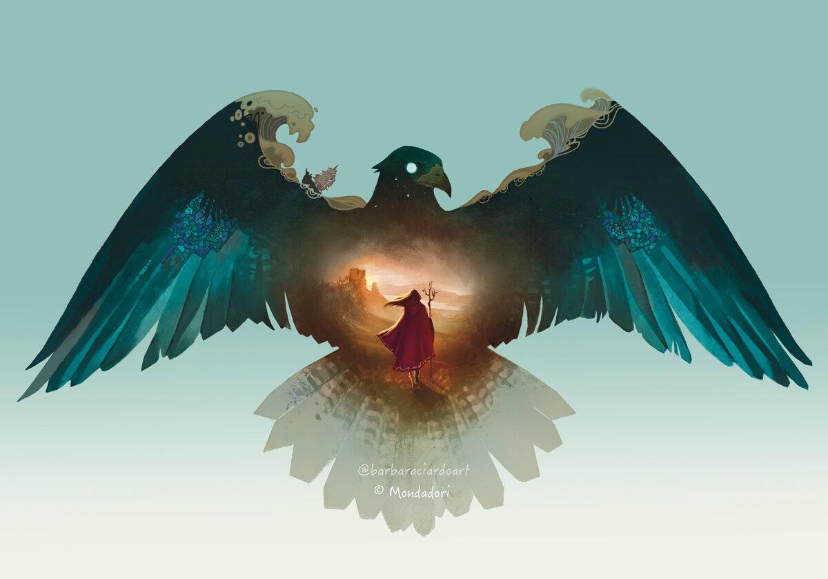 Book Cover Art for Mondadori Books