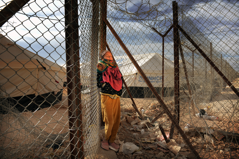 Jordan, Za'atari Refugee Camp