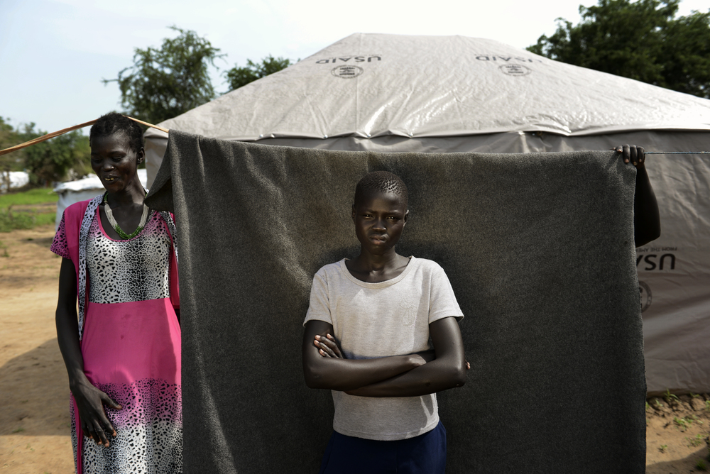 outh Sudan, Minkaman Camp, nr Bor