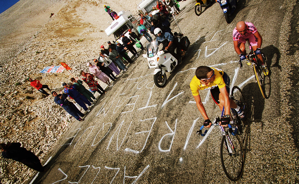 France, Mont Ventoux - World Press Photo 2001 Sports, third prize singles