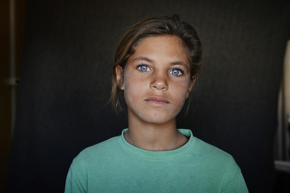 Bashira, Jordan, Zaatari refugee camp
