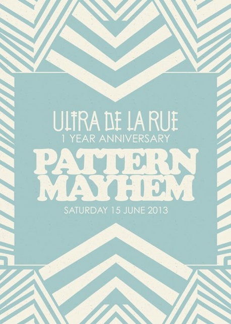 PATTERN MAYHEM EXHIBITION/WORKSHOP