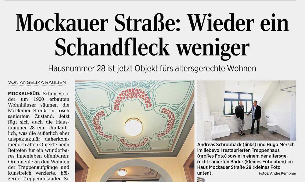 Leipziger Volkszeitung vom 12.08.2016