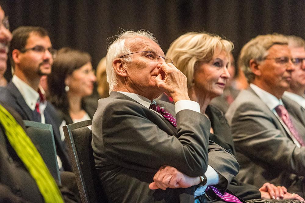 Dr. Edmund Stoiber, Karin Stoiber, Wolfgang Bosbach