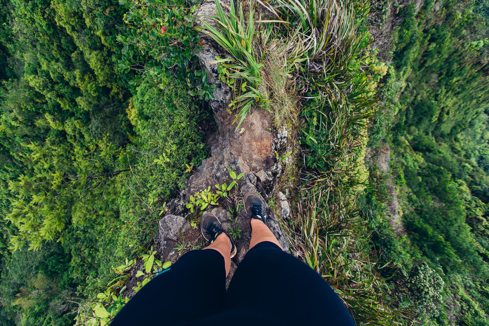 Hiking in Hawaii is not for the faint-hearted