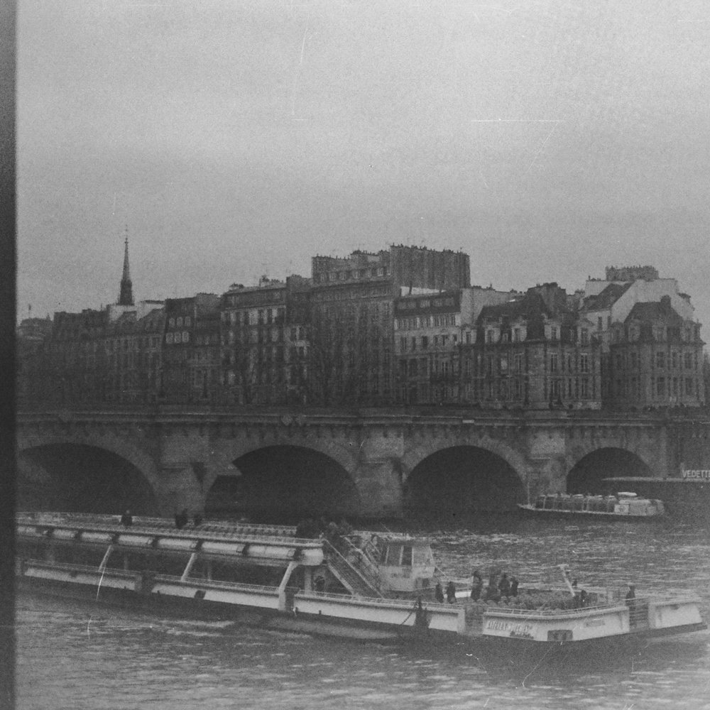 Looking towards Pont Neuf from Quai du Louvre
