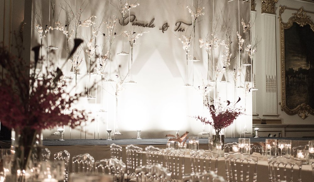Stage and table settings