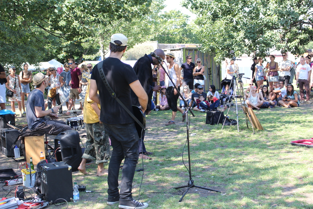 Sunday Jam session in Mauer Park