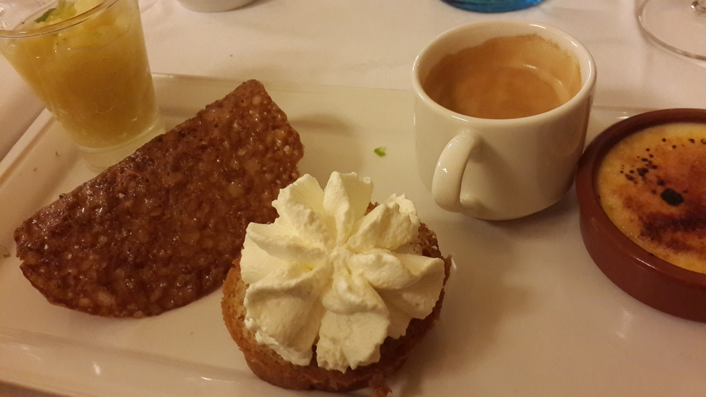 Café gourmand @ Terminus Nord
