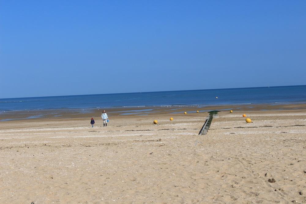 Houlgate beach