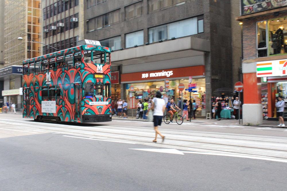 Double-decker tram aka ding ding