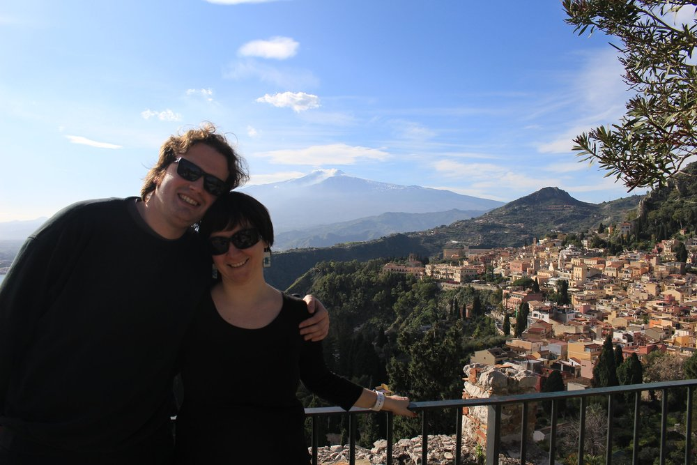 Foodies in Taormina, Sicily