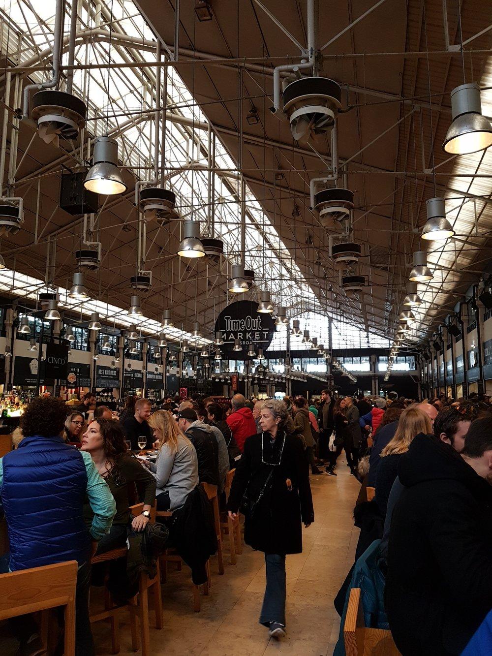 Time-out market, Lisbon