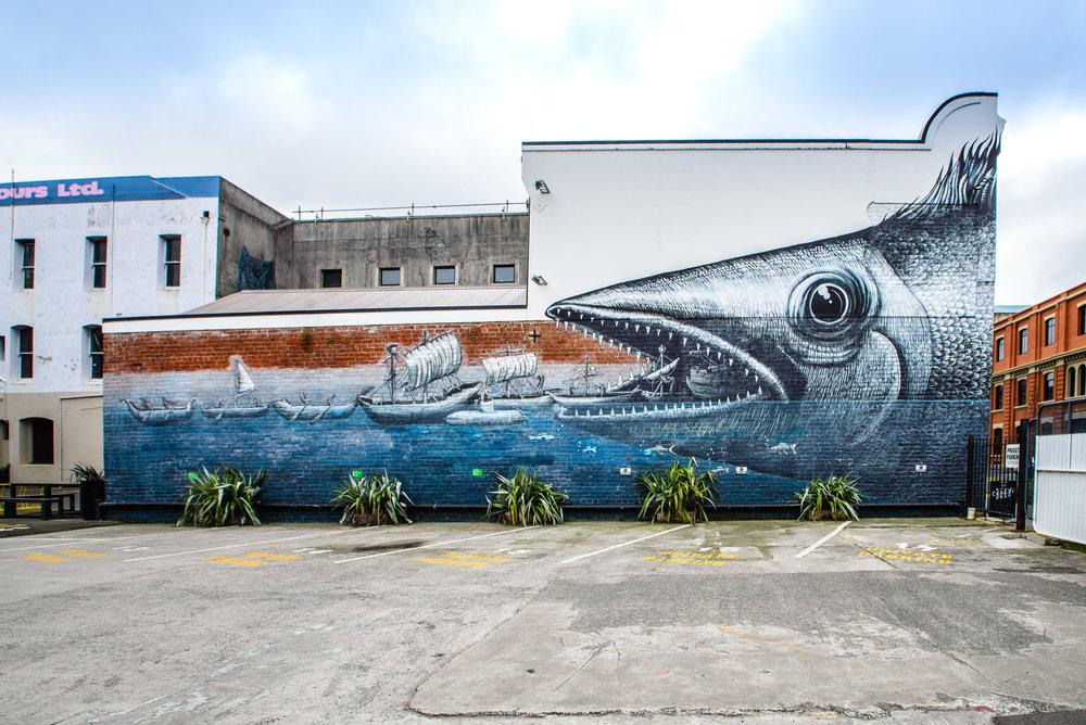 Dunedin Street Art